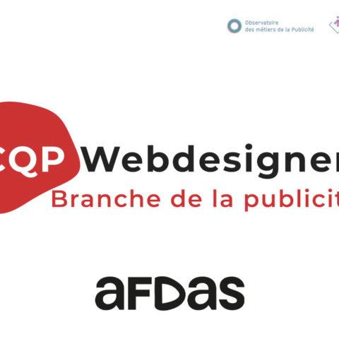 CQP – Webdesigner – Branche de la publicité