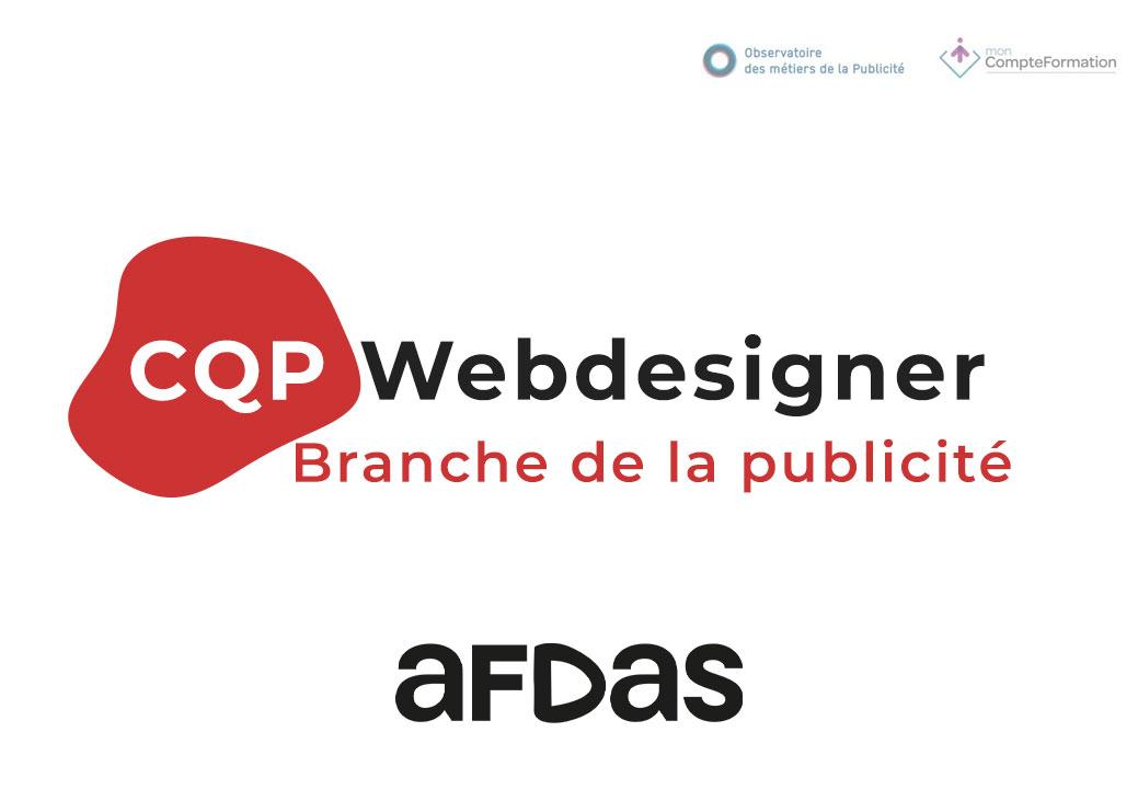 Formation professionnelle Webdesigner