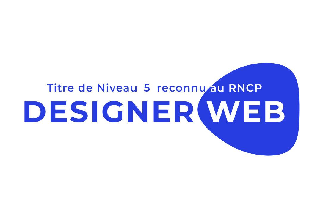 miniature qui présente la formation web designer